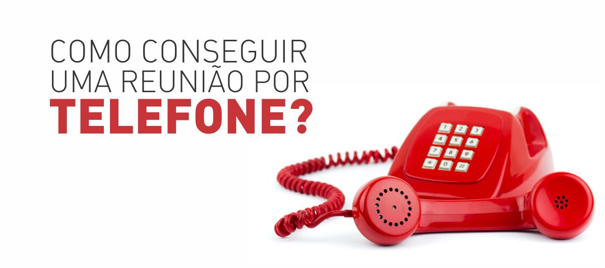 COMO REUNIAO TELEFONE